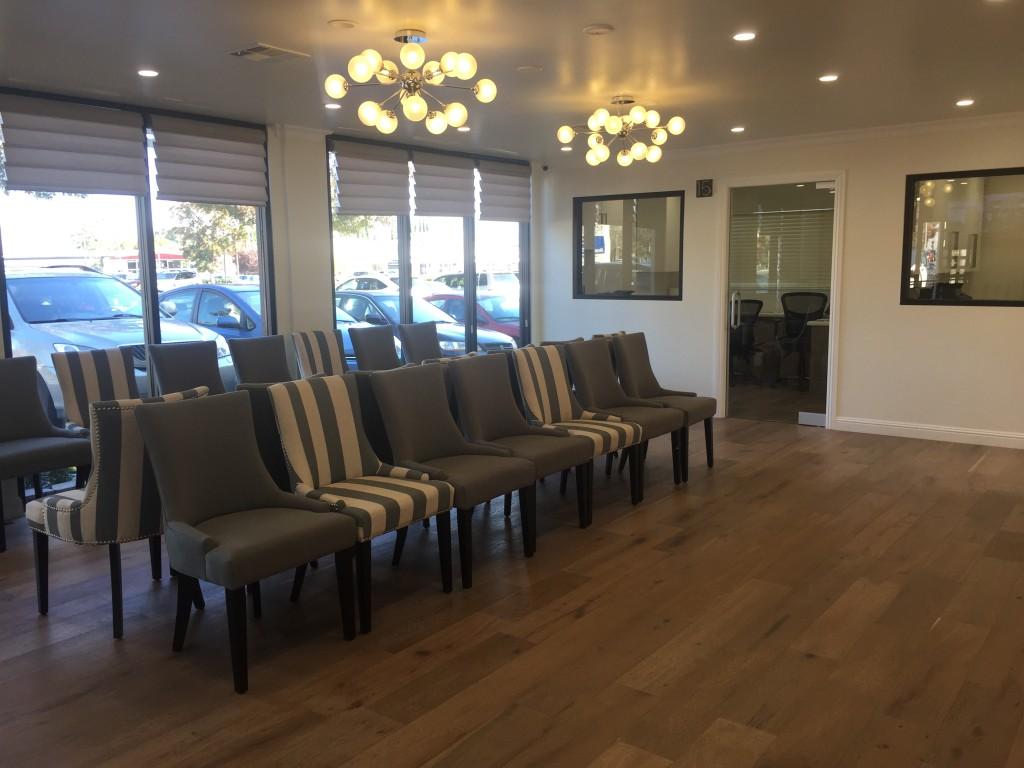 iSmile Dental office waiting area
